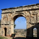 Arco romano de Medinaceli en Soria Portada