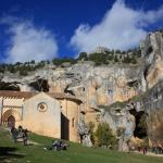 Ermita de San Bartolome en rio Lobos Soria