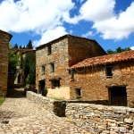 Vista de Valdelavilla en Soria