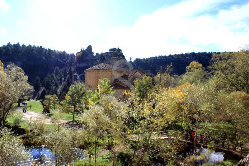 Vista Rio Lobos en Soria