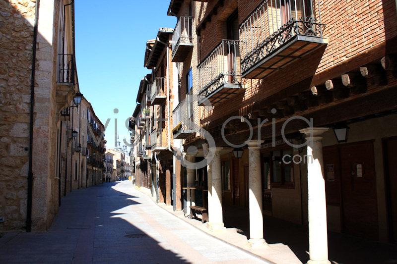 Calle Mayor 3, El Burgo de Osma, Soria