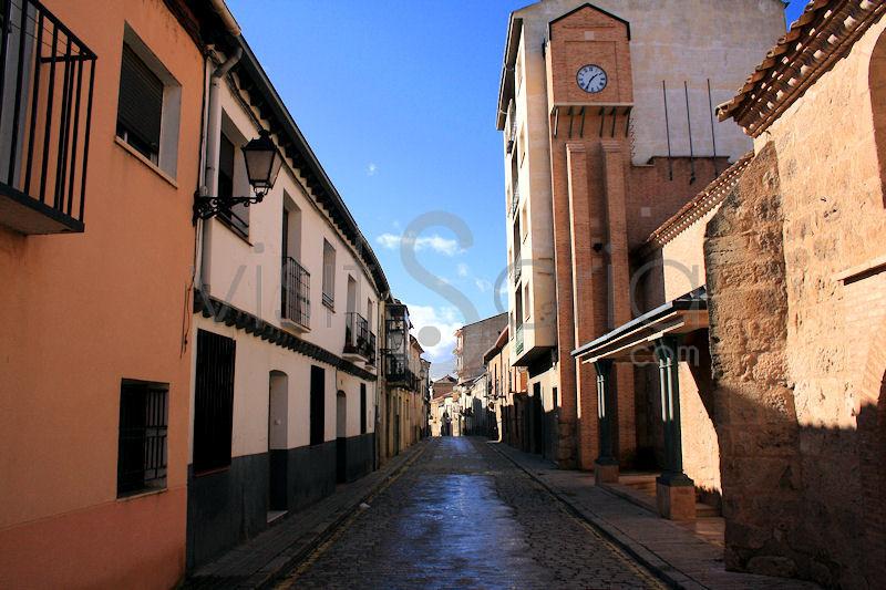 Calle Monjas, Almazán, Soria